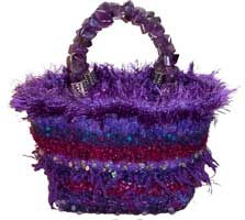 Purple Mini Handbag